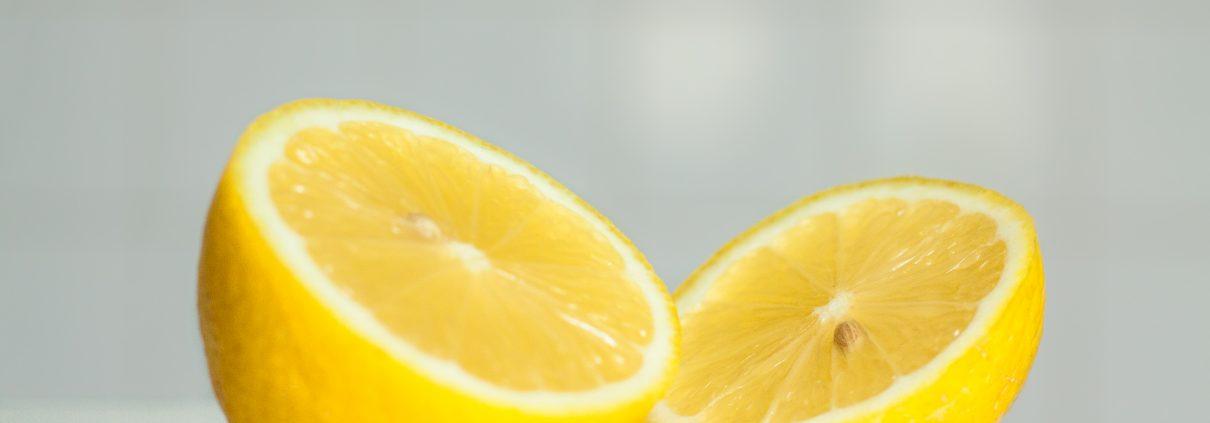 citron traitement acné