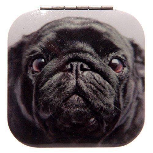 miroir de poche original chien