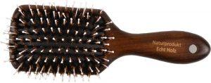 brosse à cheveux poil de sanglier et nylon
