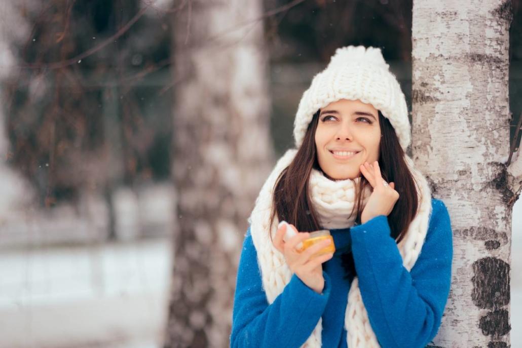 Routine beauté pour la peau l'hiver