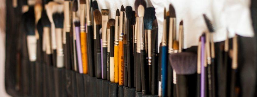 laver pinceaux de maquillage